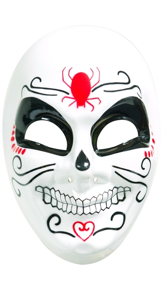 Dia De Los Muertos Mask, Day of the Dead Mask, Full Face Mask