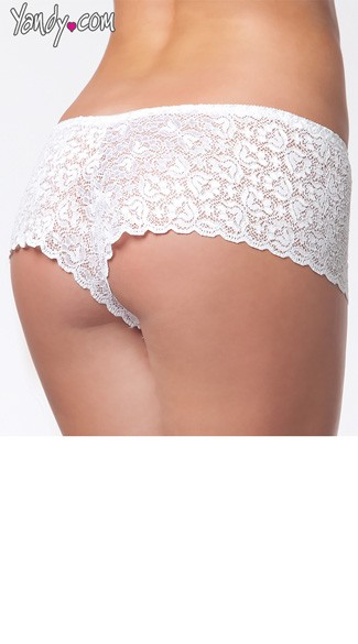 Plus Size Lace Booty Shorts
