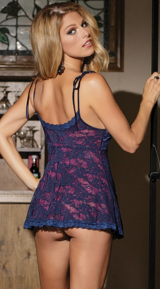 Color Me Pretty Reversible Babydoll