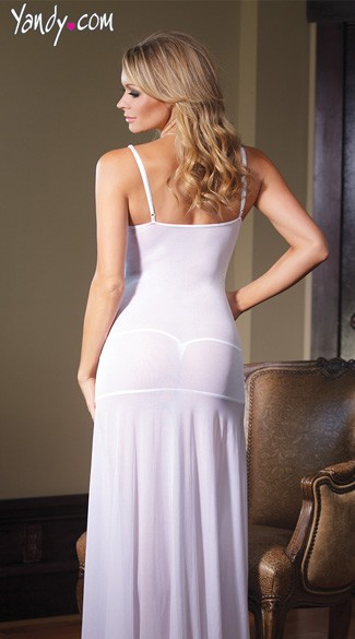 Plus Size Bride to Be Sleepwear Gown