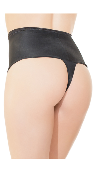 High Waisted Thong