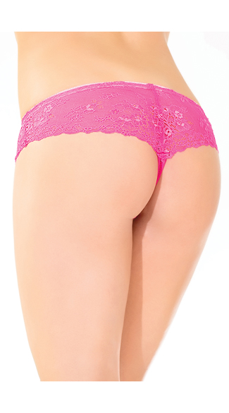 Kissable Lace Thong Panty