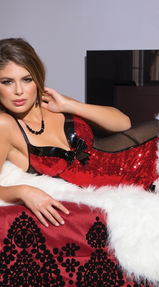 Naughty and Nice Chemise