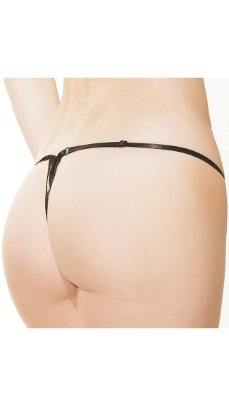 Leopard and Lace G-String