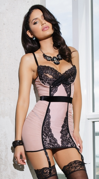 Blush and Lace Chemise