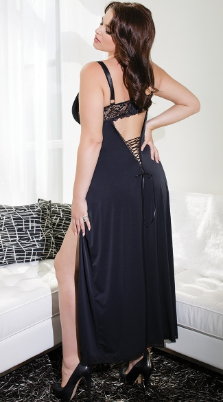 Plus Size Totally Tempting Lingerie Gown