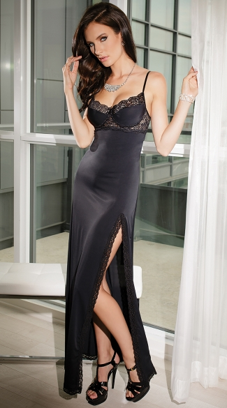 Totally Tempting Lingerie Gown