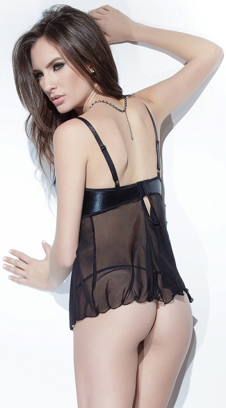 Darque Babydoll and G-String