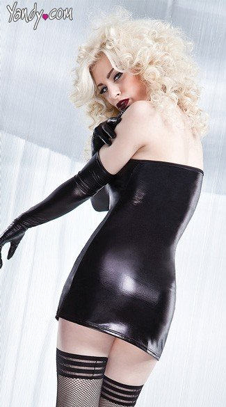 Wetlook Tube Dress