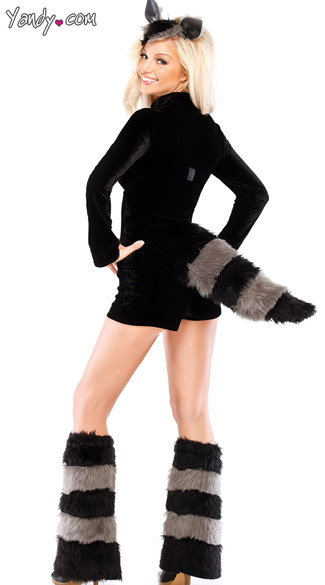 Furry Raccoon Costume