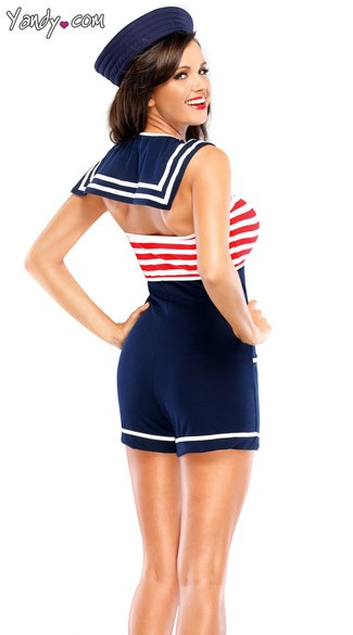 Sassy Pin Up Sailor Costume