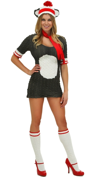 Sock Monkey Costume