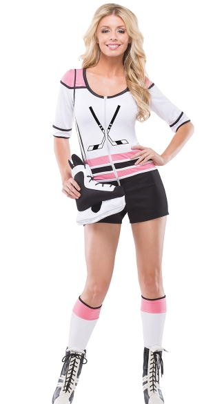 Hottie Hockey Costume