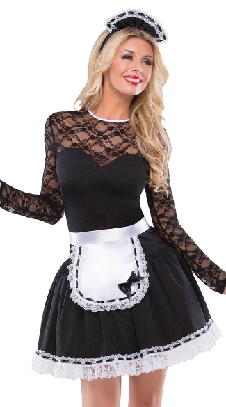 Exotic French Maid Costume French Maid Halloween Costume