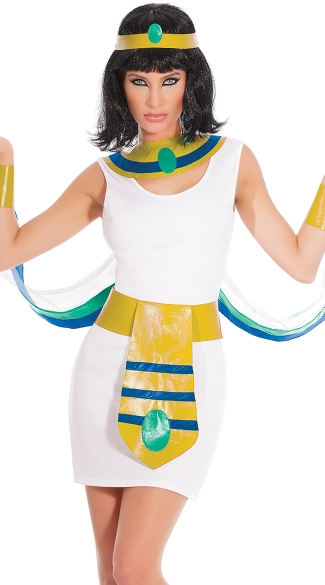Egyptian Princess Costume, Sexy Egyptian Costumes, Cleopatra Halloween Costumes