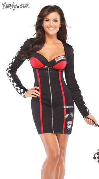 Racer Girl Role Play Costume