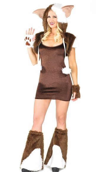 Sexy Furry Monster Costume, Movie Monster Costume