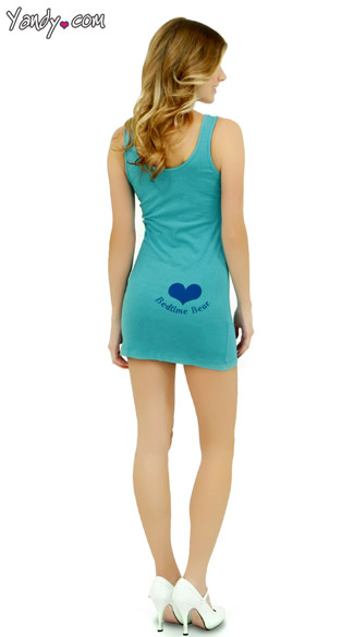 Bed Time Care Bear Tank Dress