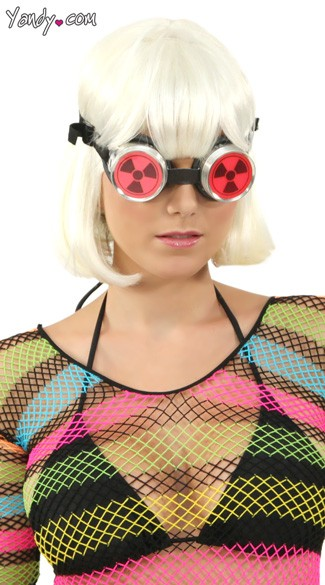Nuclear Waste Opaque Pink Goggles