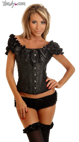 Plus Size Doll Face Corset