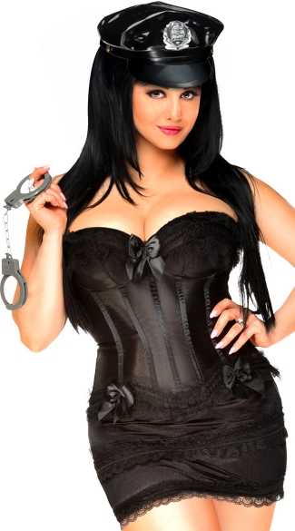Night Shift Officer Corset Costume