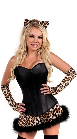 Lavish Naughty Leopard Costume