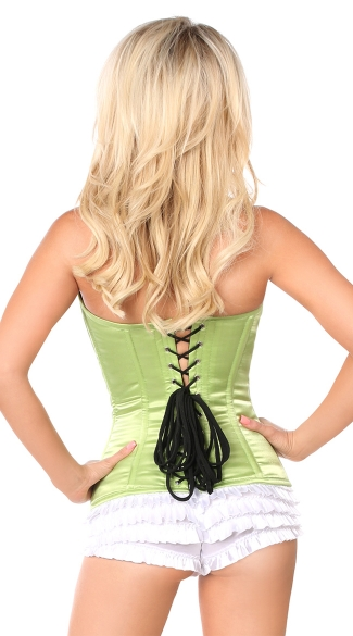 Plus Size Lime Sweetheart Corset
