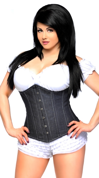 Denim Waist Cincher