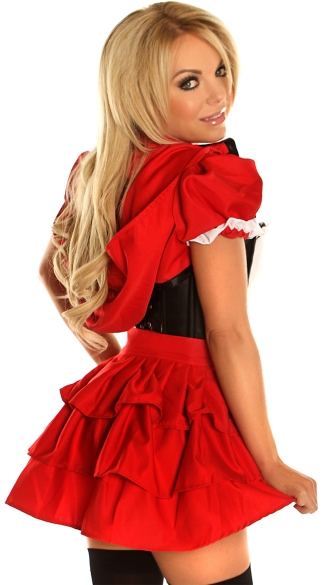 Sassy Lace Up Riding Babe Costume