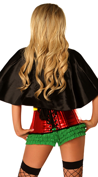 Superhero Sidekick Corset Costume