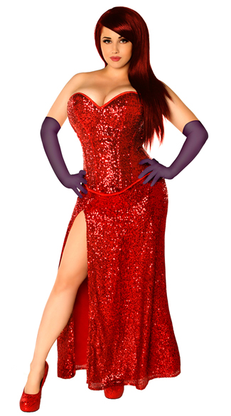 Miss Jessica Costume, Cartoon Character Costume, Movie Costume