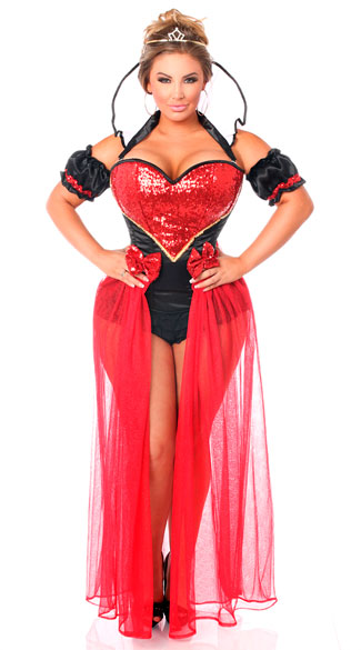 plus size sexy fairy tale red queen costume plus size sexy queen costume plus size sexy red