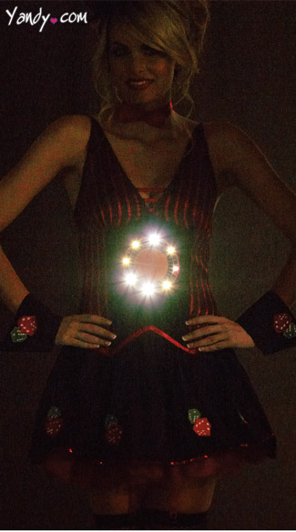 Light Up Roulette Costume