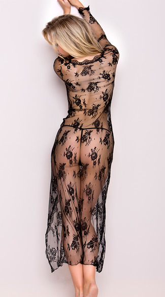 Delicate Lace Gown