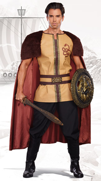 Voracious Viking Costume, viking costume, sexy viking costume, mens viking costume, sexy mens viking costume