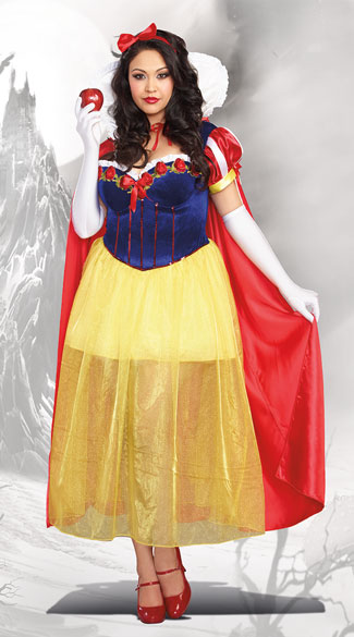 Plus Size Happily Ever After Costume, plus size princess costume, plus size sexy princess costume, plus size fairytale costume, plus size sexy fairytale costume