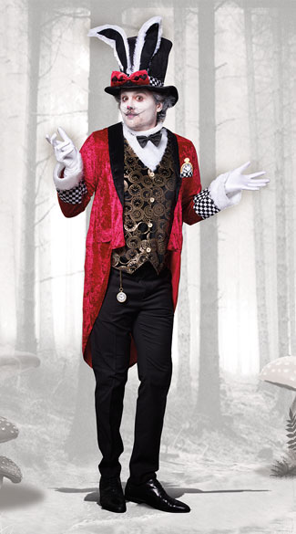White Rabbit Costume Wonderland Rabbit Costume Yandy Com