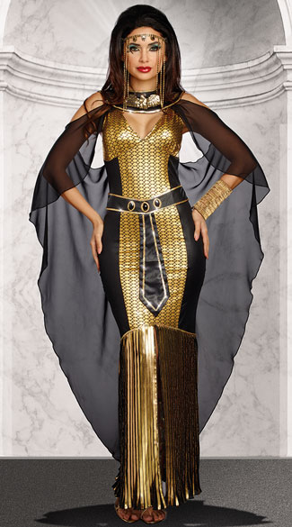 Egyptian Queen Costume, Sexy Pharaoh Costume - Yandy.com