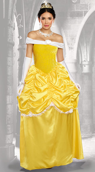 Fairytale Beauty Costume, Enchanted Rose Costume - Yandy.com