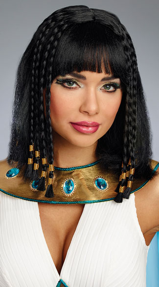 Egyptian Queen Wig, Cleopatra Wig - Yandy.com