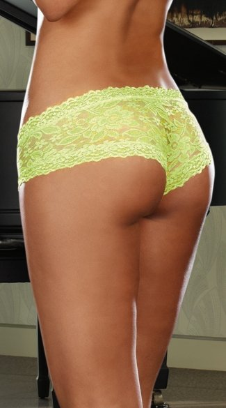Stretch Lace Cheeky Hiphugger Panty