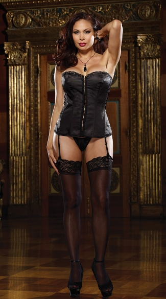 Plus Size Reversible Corset Set