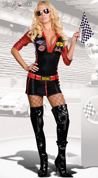 Race Car Driver Girl Costume