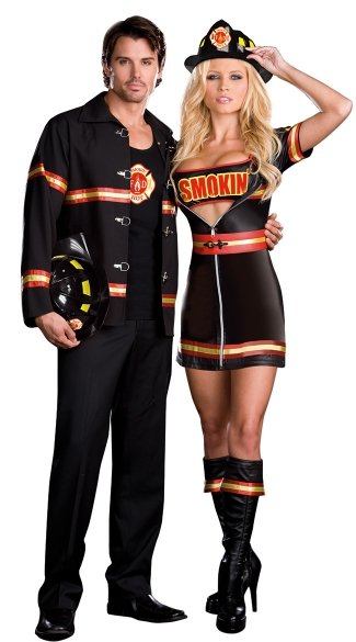 Smokin\' Hot Fire Fighter Costume