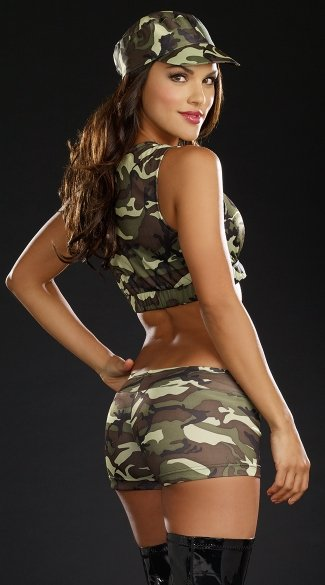 Battalion Babe Vest Costume Kit