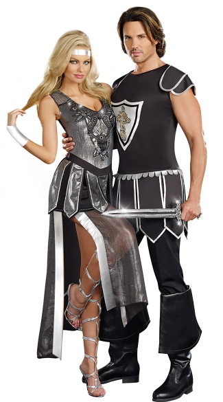 Men\'s One Hot Knight Costume