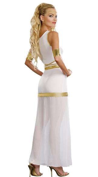 Goddess Of Love Aphrodite Costume, White Goddess Costume ... Aphrodite Greek Mythology Costume