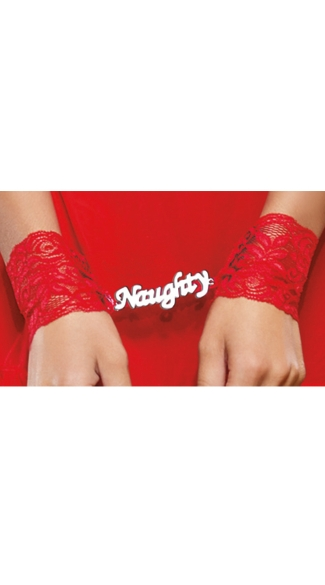 Naughty Secrets Babydoll and Restraints