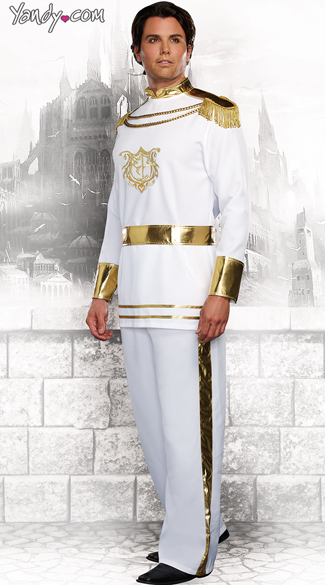 Men\'s Charming Prince Costume, Prince Costumes For Men, Fairytale Prince Costume