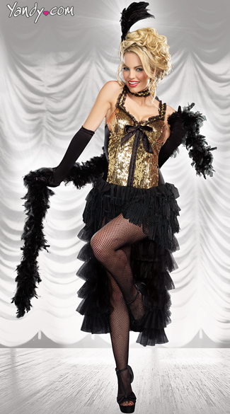 Cabaret Bombshell Costume Burlesque Dancer Costumer